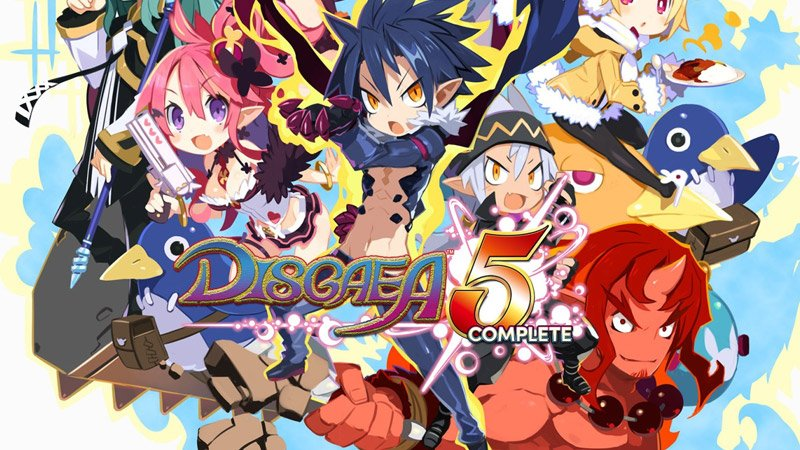 Disgaea 5 Complete has been delayed until Summer 2018
