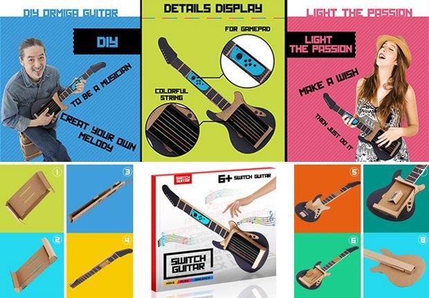Unofficial Nintendo Labo Guitar