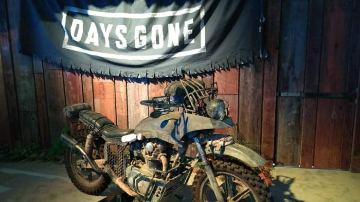 Days Gone E3 2018 motorcycle