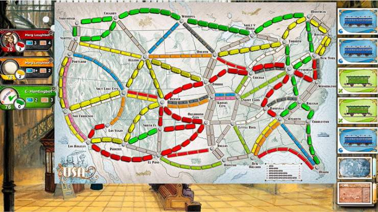 Ticket to Ride - PlayStation 4