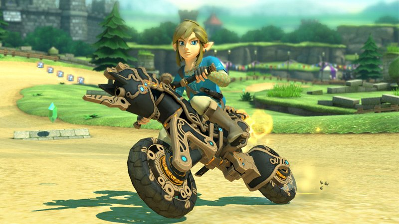 New update brings Breath of the Wild to Mario Kart 8 Deluxe