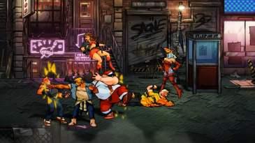 Streets of Rage 4 screenshot