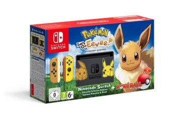 Pokémon Let's Go Eevee! Nintendo Switch bundle
