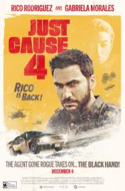 Just Cause 4 1960s movie poster