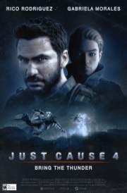 Just Cause 4 1990s movie poster