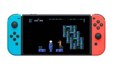 Metroid classic NES Switch online