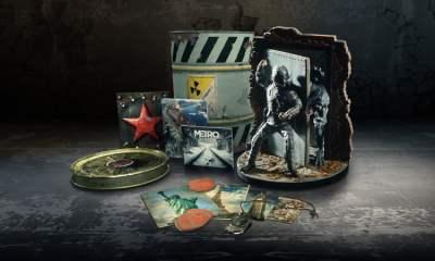 Metro Exodus Spartan Collector's Edition contents