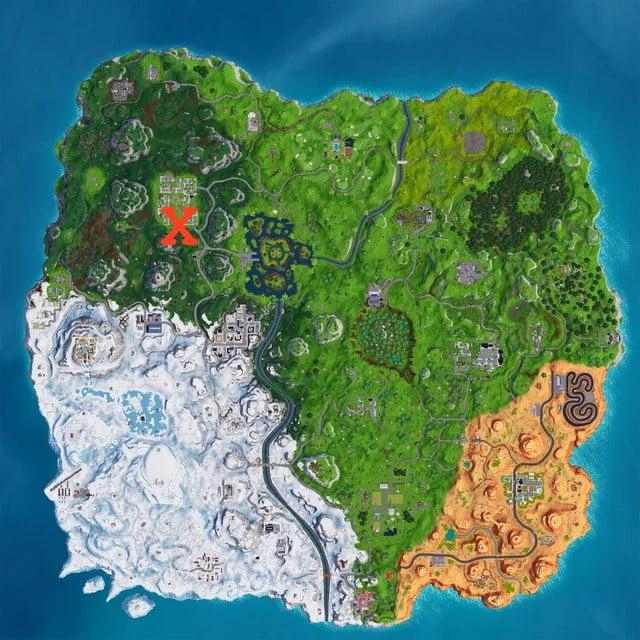 Fortnite Keep it Mello map