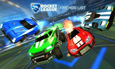 Rocket League Friends List