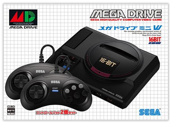 Sega Mega Drive Mini box