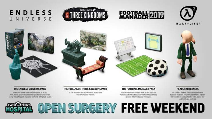 Two Point Hospital - free play weekend