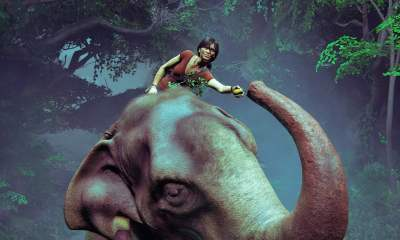 Uncharted: The Lost Legacy - Elephant ride