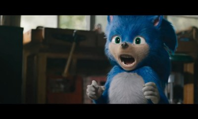 Sonic the Hedgehog movie teeth