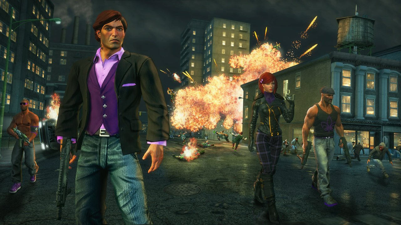 Saints Row: The Third Deluxe Pack detailed for Nintendo Switch