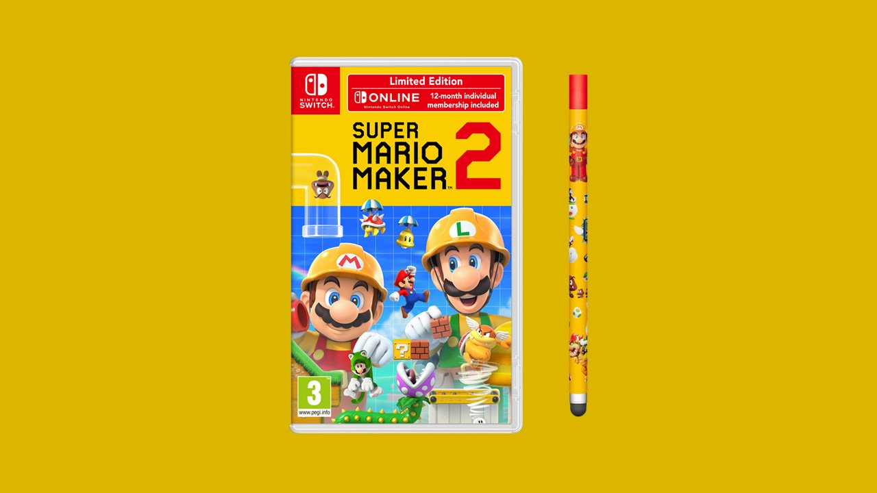 Super Mario Maker 2 release date and bundle revealed