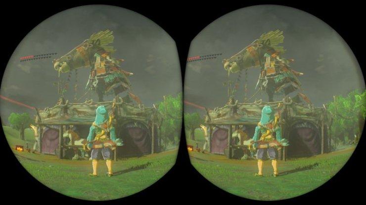 The Legend of Zelda Breath of the Wild VR