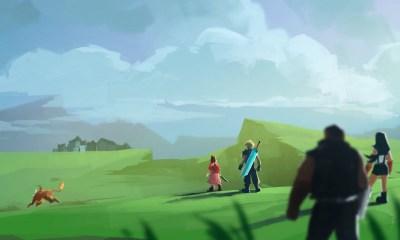 Final Fantasy VII overworld