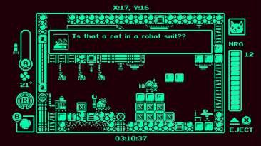 Gato Roboto cat in a robot suit