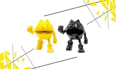 Pac-Man x Orlinski sculpture