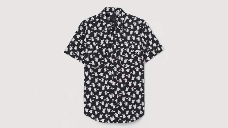 Pokémon Detective Pikachu H&M shirt