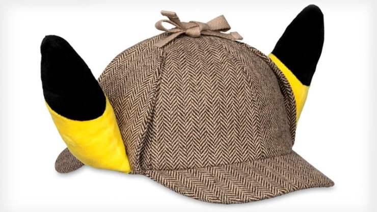 Pokémon Detective Pikachu plush hat