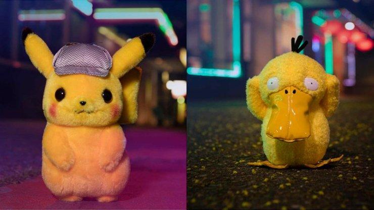Pokémon Detective Pikachu plush