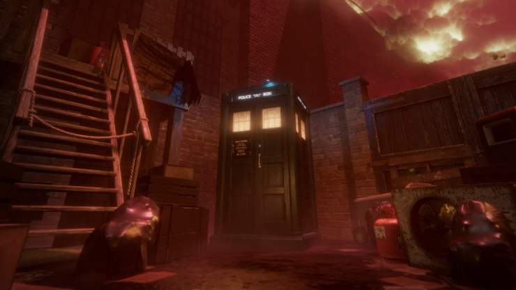 Doctor Who - The Edge of Time - TARDIS