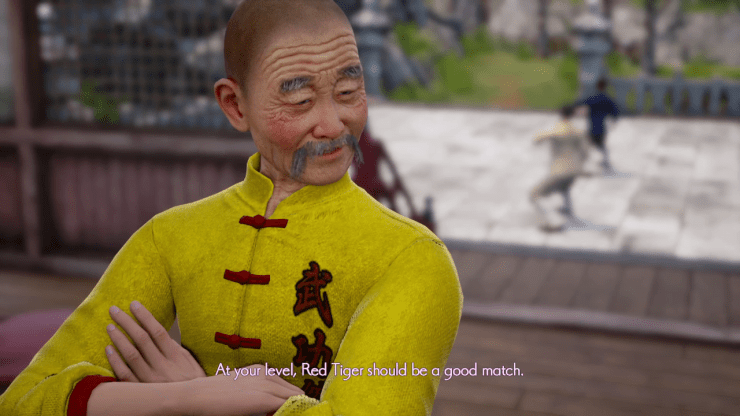 Shenmue III fight dialogue