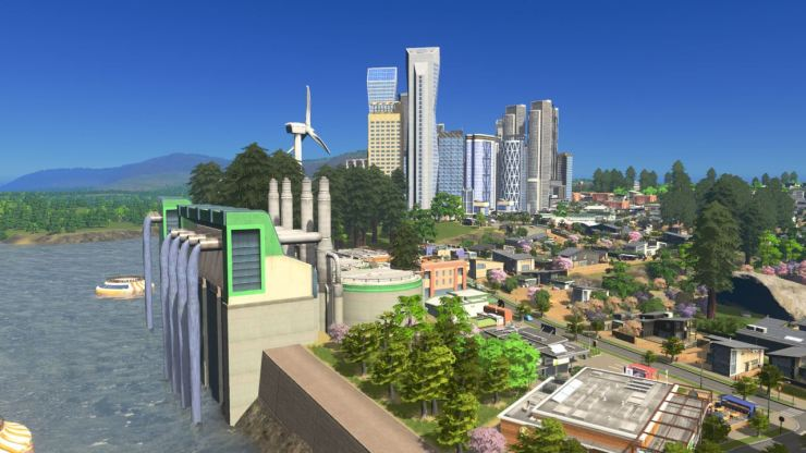 cities skylines green cities turbine