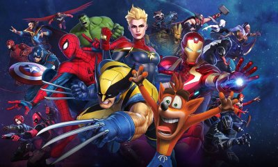 Marvel Ultimate Alliance - Crash Bandicoot