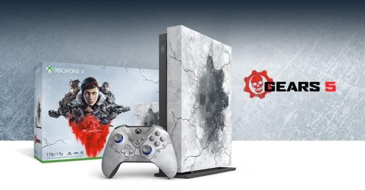 Gears 5 Xbox One X promo shot