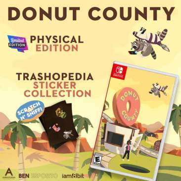 Donut County - Nintendo Switch Limited Edition