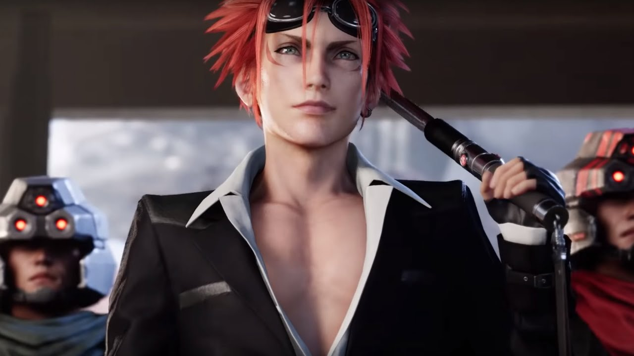 Latest Final Fantasy VII Remake trailer shows off sexy Turks, giant President Shinra