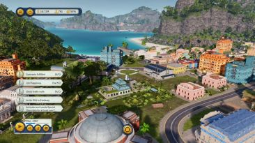 Tropico 6 PS4 screen