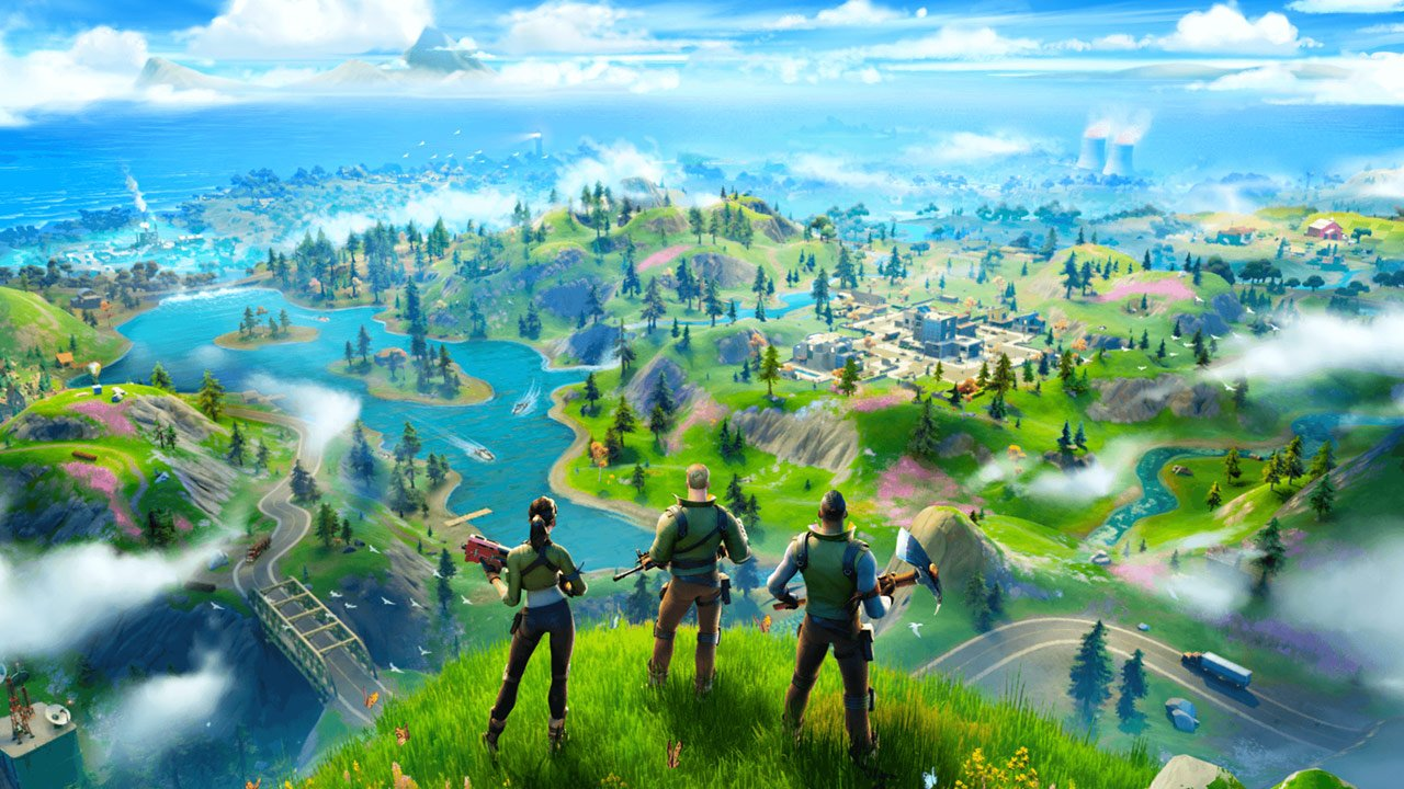 Fortnite is back with Chapter 2 and a brand new map