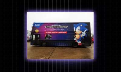 Sega Mega Drive bus