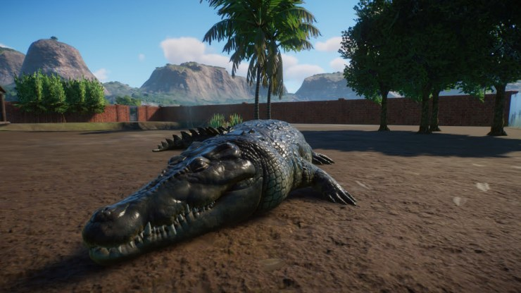 Planet Zoo alligator