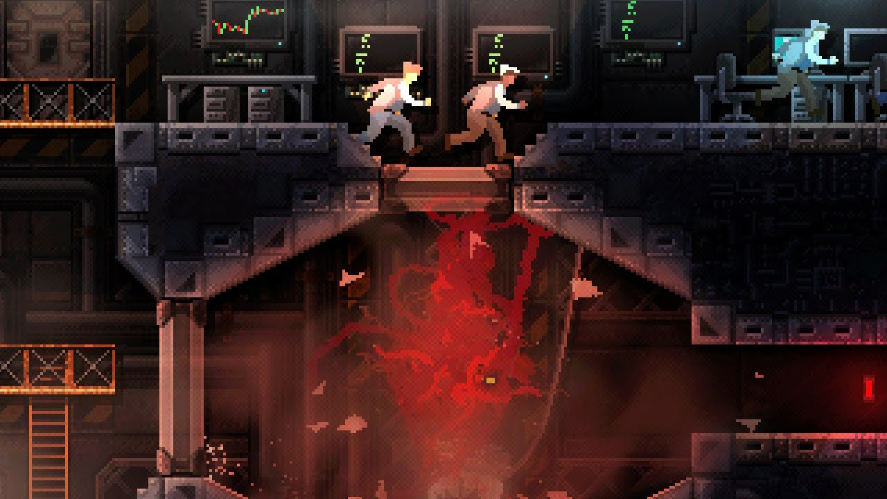 Carrion, the Metroidvania that makes you a monster, is coming to Xbox One