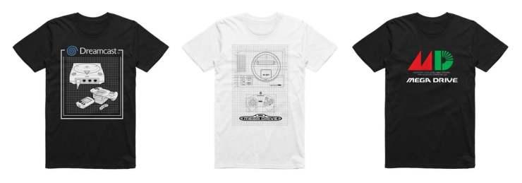 Sega T-shirts