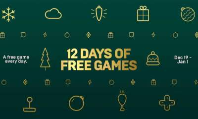 Epic Games Store 12 games of Christmas