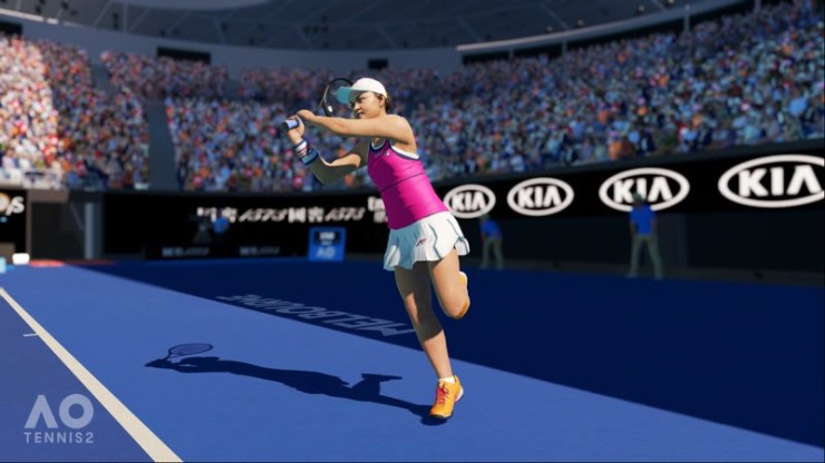 AO Tennis 2 screenshot