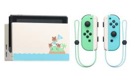 Nintendo Switch Animal Crossing Edition