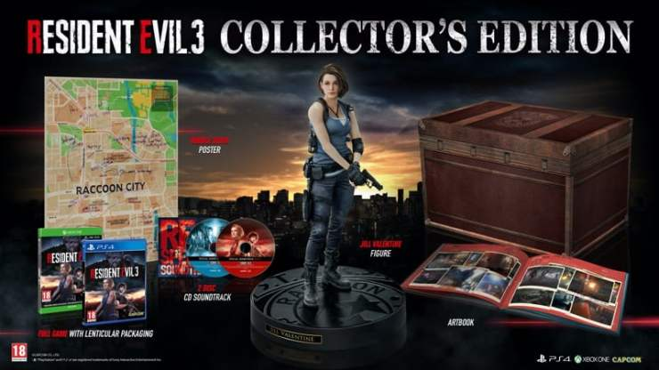 Édition Collector Resident Evil 3