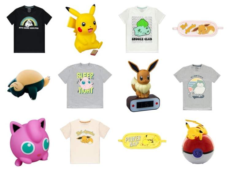Pokémon Sleep Merchandise