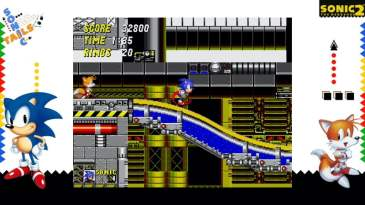 Sonic the Hedgehog 2 Sega Ages Screenshot