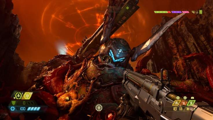 Doom Eternal screenshot sentinel