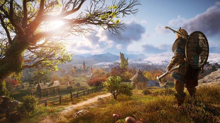 Assassin's Creed Valhalla screenshot female protagonist