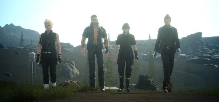 Final Fantasy XV the boys