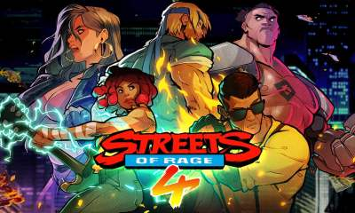 Streets of Rage 4 keyart