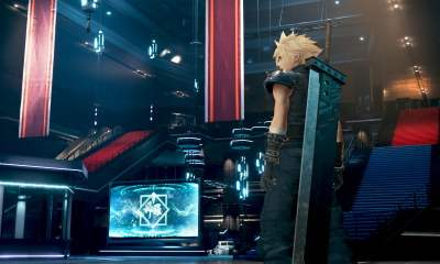 Final Fantasy VII Remake stairs